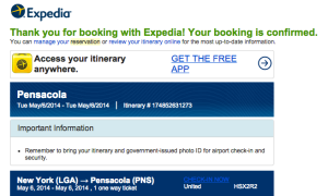 Booked.