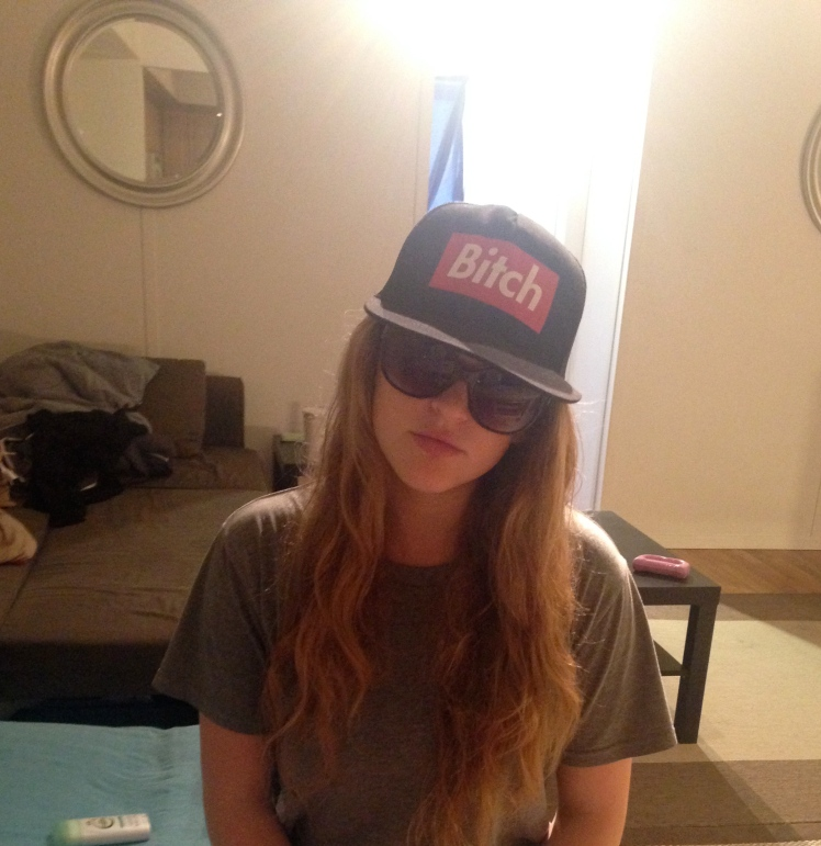 A hat we found in the apartment